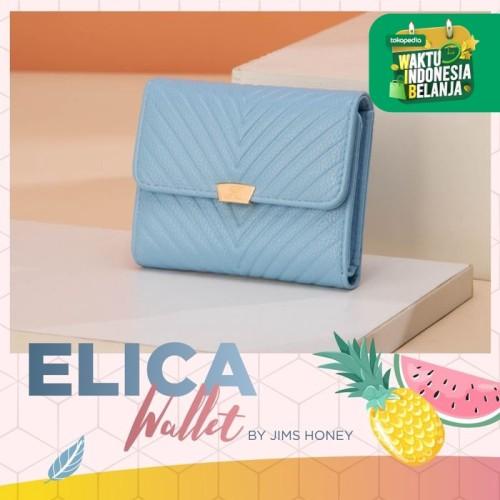 Foto Produk Jims Honey - Elica Wallet Dompet Wanita Dompet Lipat - Biru Muda dari JIMS HONEY OFFICIAL