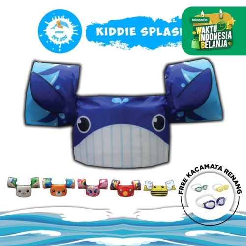 Foto Produk PUDDLE JUMPER PROMO - Biru dari KIDDIE SPLASH INDONESIA