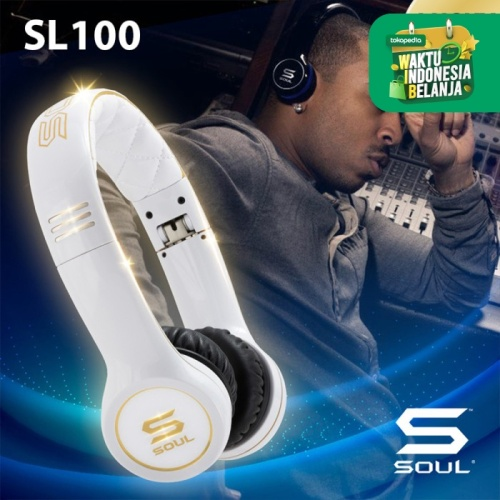 Foto Produk Soul by Ludacris SL100 Ultra Dynamic In-Ear Headphones - Biru dari Soul official