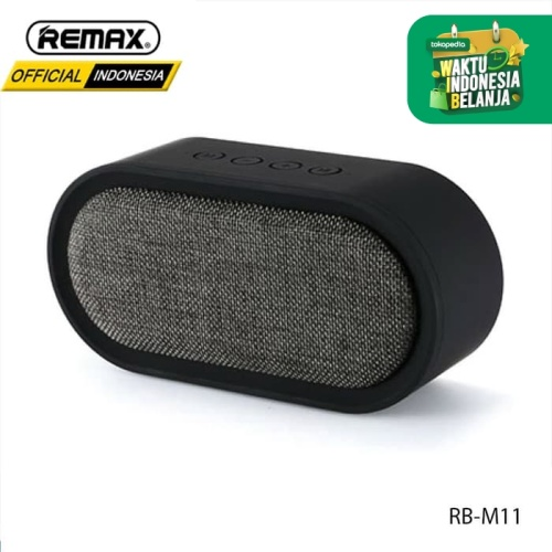 Foto Produk REMAX Desktop Fabric Bluetooth Speaker RB-M11 - BLACK dari Remax Indonesia Official