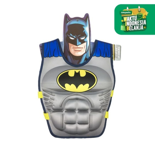 Foto Produk Pelampung Vest Suit Puddle Jumper - Batman, M dari KIDDIE SPLASH INDONESIA