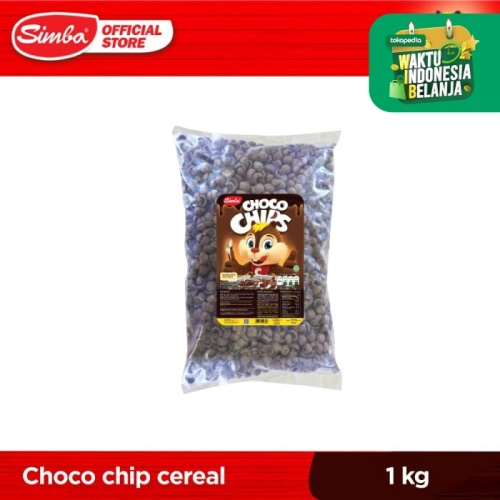 Foto Produk Cereal SIMBA Choco Chips Bag 1 kg dari Simba Official Store