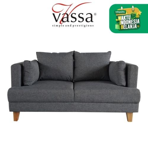 Foto Produk Sofa 2 dudukan Vassa - VAS012 dari Vassa Sofa