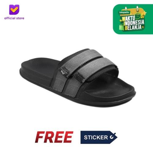 Foto Produk Sandal Pria Slide Footstep Footwear - Mono Grey - 41 dari Footstep Footwear
