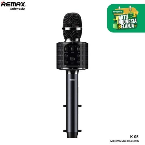 Foto Produk Remax Bluetooth Microphone K-05 - Hitam dari Remax Indonesia Official