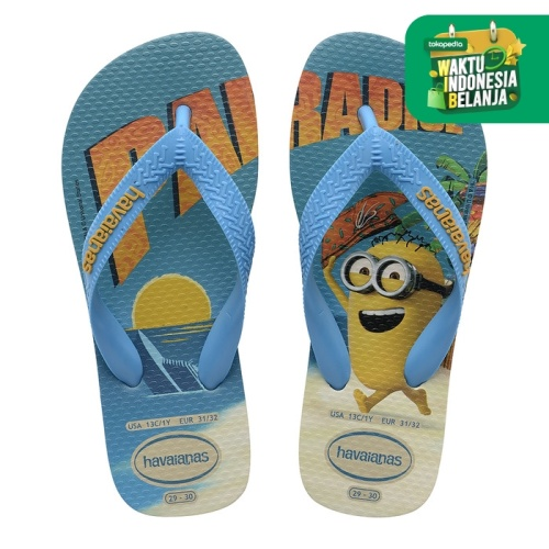 Foto Produk Havainas Minions Fc Yellow Citric/White - 33-34 dari Havaianas Official Shop