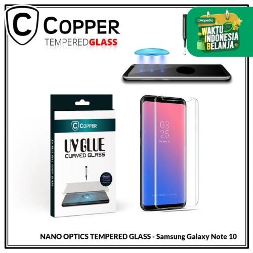 Foto Produk Samsung Galaxy Note 10 - COPPER Nano UV Glue Tempered Glass dari Copper Indonesia