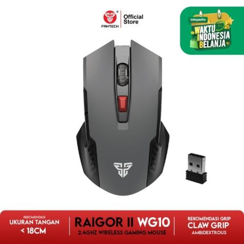 Foto Produk Fantech RAIGOR II WG10 Mouse Wireless Gaming - Space Grey dari Fantech Official Store
