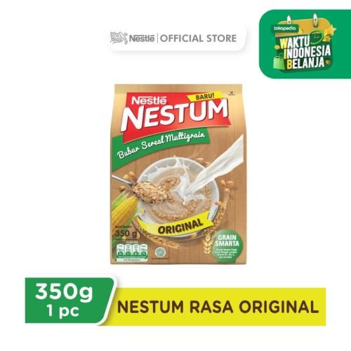 Foto Produk Nestle NESTUM Bubur Sereal Multigrain Pouch 350gram Original dari Nestle Indonesia