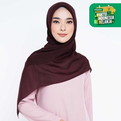 Foto Produk ZM Zaskia Mecca - Sana Coffe Hijab Kerudung Segi Empat dari Zaskia Mecca Official