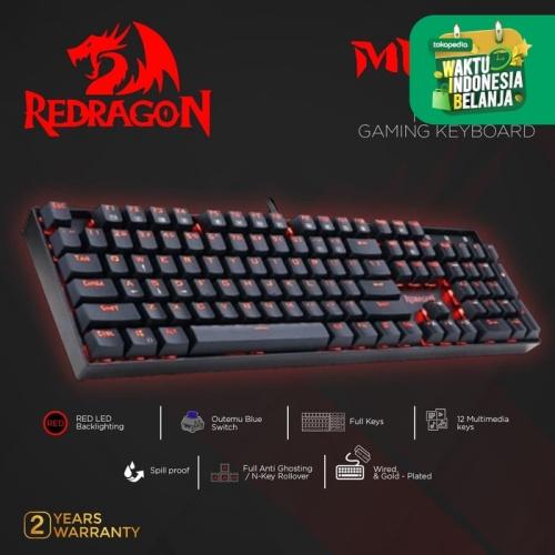Foto Produk Redragon Gaming Keyboard Mechanical MITRA - K551 dari REDRAGON INDONESIA