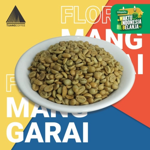 Foto Produk Specialty - Green Bean - Natural Arabica - Flores Manggarai - Kartika dari Tuang Coffee