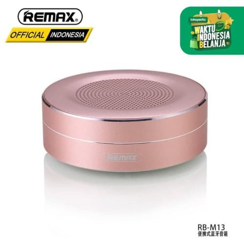 Foto Produk REMAX Portable Bluetooth Speaker RB-M13 - BLACK dari Remax Indonesia Official