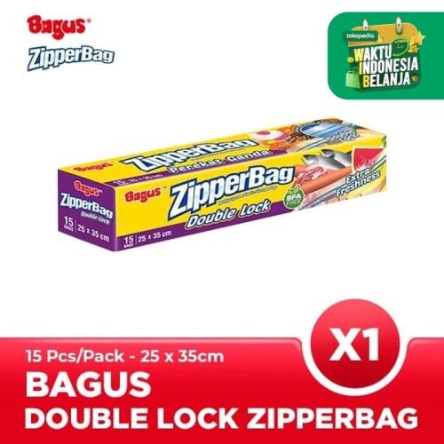 Foto Produk Bagus Zipperbag 15's - 25 cm x 35 cm dari Bagus Official Store