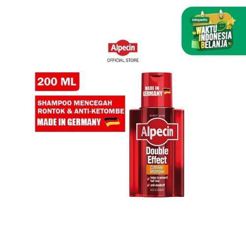 Foto Produk Alpecin Double Effect Shampo Ketombe&Rontok Pria/Dandruff Men Shampoo dari Dr Wolff Official Store