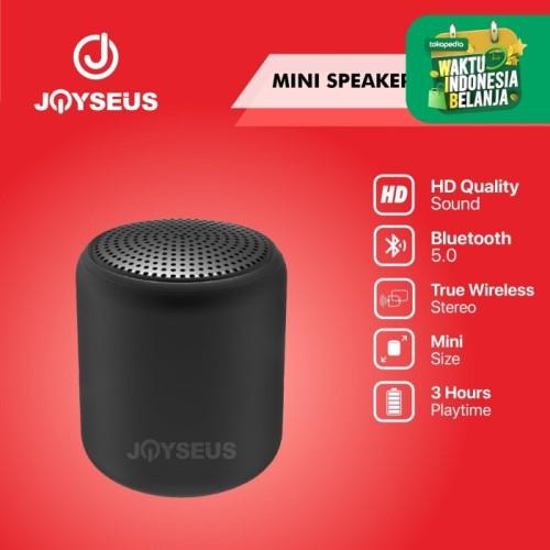 Foto Produk JOYSEUS JS02 Speaker Mini Portable Stereo Bluetooth 5.0 - OT0029 dari Joyseus Official Store