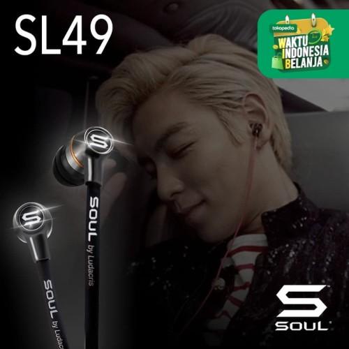 Foto Produk SL49 Ultra Dynamic In-Ear Earphones - Hitam dari Soul official