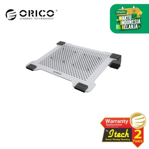 Foto Produk ORICO NA15-SV Full Alluminium Double fans cooling pad for laptop dari ORICO INDONESIA
