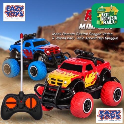 Foto Produk RC Rock Crawler Mobil Remote Kontrol Jeep Off Road Mini - tanpa baterai dari EAZYTOYS