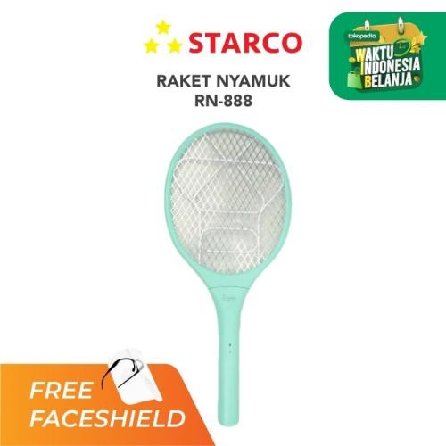 Foto Produk Starco Raket Nyamuk RN-888 - Mint Gratis FS dari Starco Official Store