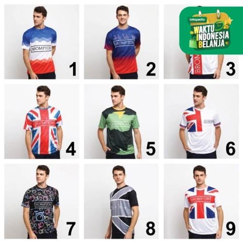 Foto Produk KAYSER Kaos Jersey Brompton Bersepeda Olahraga Dri Fit Sepeda Lipat - KODE 2, XL dari kayser official