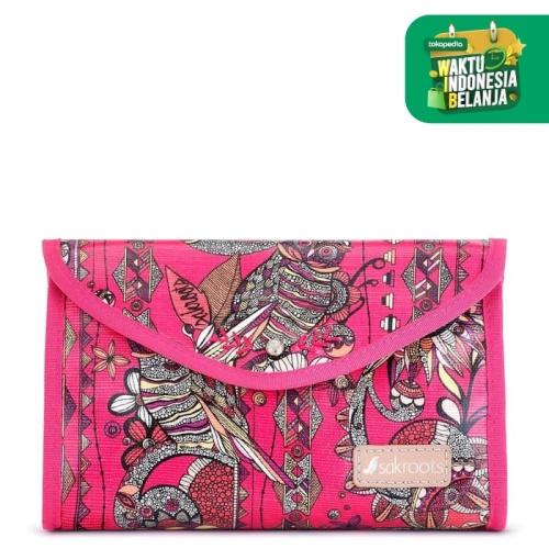 Foto Produk Sakroots Flap Cosmetic Pouch Fuchsia SD dari Sakroots Indonesia