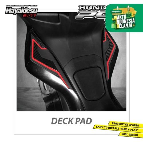 Foto Produk Hayaidesu PCX Deck Pad Body Protec Cover - Merah dari Hayaidesu Indonesia