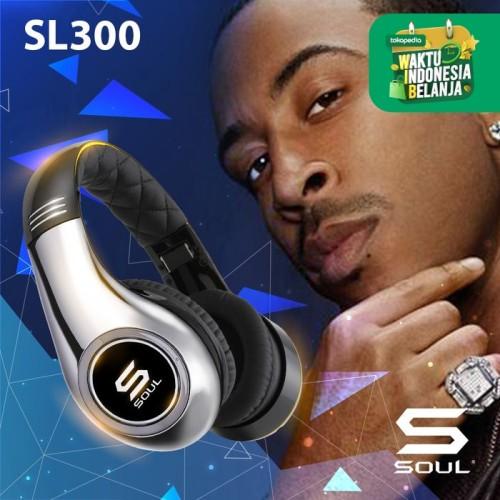 Foto Produk SOUL by Ludacris SL300 High Definition Noise Canceling Headphones - Perak dari Soul official
