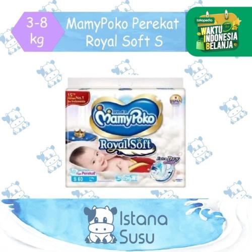 Foto Produk MamyPoko Royal Soft Perekat S 60 dari Istana Susu