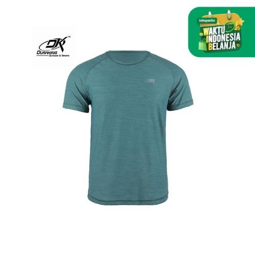 Foto Produk Running Jersey - DK Basic Color Tee Man Tosca - XL dari Duraking Outdoor&Sports