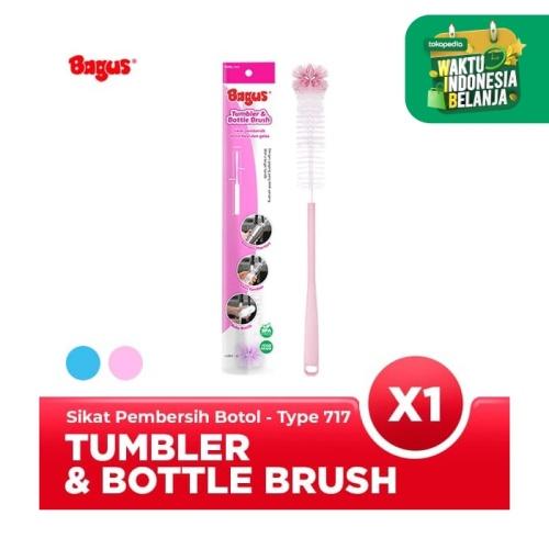 Foto Produk Bagus Tumbler and Bottle Brush Tipe 717 Pink dari Bagus Official Store