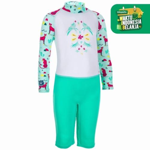 Foto Produk Nabaiji Baju Renang Anak UPF 50+ Hijau Decathlon 8577037 - 18 Bulan dari Decathlon Indonesia
