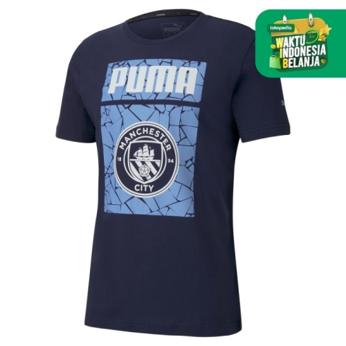 Foto Produk Puma Men Manchester City Ftblcore Graphic Tee-75805207 - S dari Puma Official Store