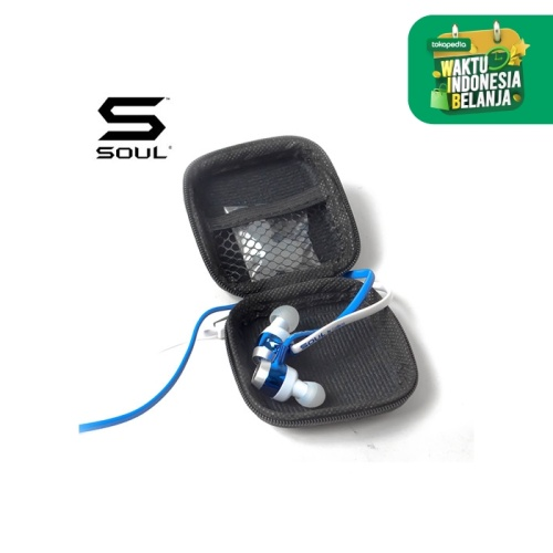 Foto Produk SOUL by Ludacris SL99 High-Def Sound Isolation In-Ear Headphones - Biru dari Soul official