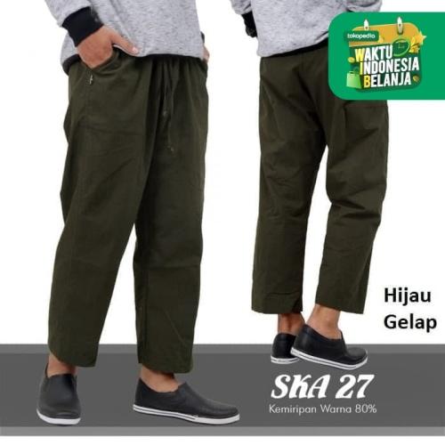 Foto Produk Celana Panjang Cargo katun Pangsi Sirwal - Cream dari kayser official