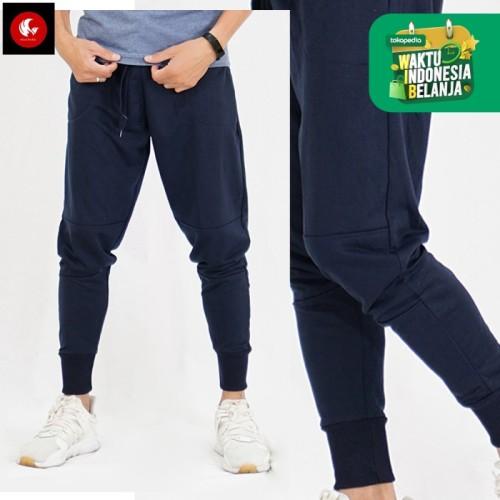 Foto Produk Celana Jogger Pants Sydney DarkGrey Okechuku Sweatpants Basic Training - Navy dari Okechuku