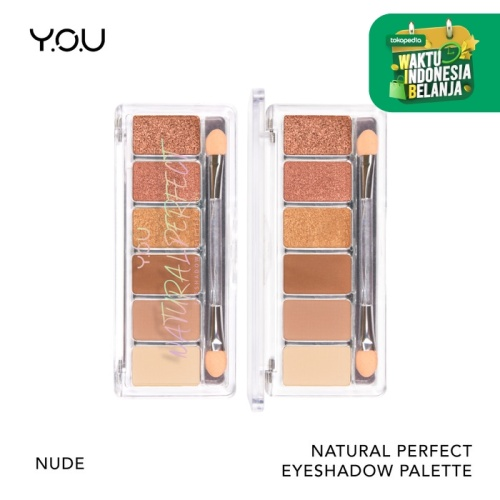 Foto Produk Natural Perfect Eyeshadow Palette - Nude dari YOU Makeups Official