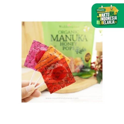 Foto Produk Wedderspoon, Organic Manuka Honey Pops For Kids, 1pc pop dari Nourish Indonesia