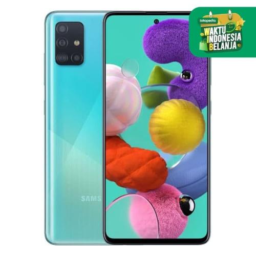 Foto Produk Samsung Galaxy A51 8GB - Blue dari Samsung Mobile Indonesia