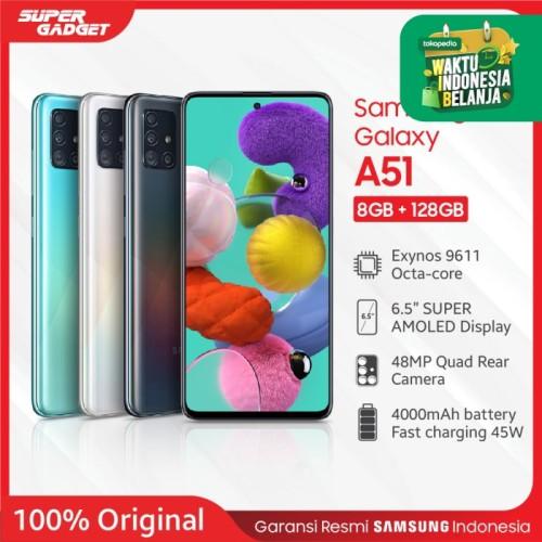Foto Produk Samsung Galaxy A51 [8GB/128GB] - Garansi Resmi - Hitam dari SUPER_GADGET