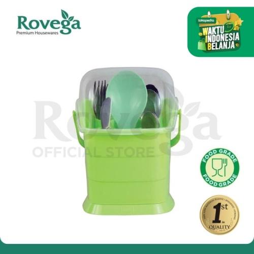Foto Produk Rovega Small Spoony Tempat Sendok Premium Food Grade (HIJAU) dari ROVEGA OFFICIAL STORE