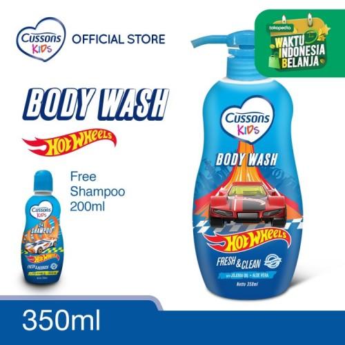 Foto Produk Cussons Kids Body Wash Hot Wheels + Gratis Shampoo dari Cussons Official Store