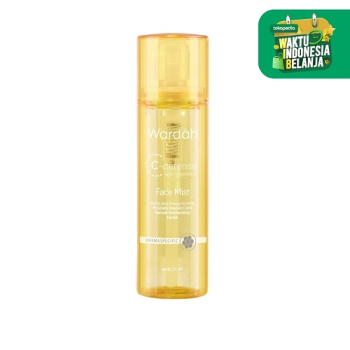 Foto Produk Wardah C-Defense Face Mist 55 ml dari Wardah Official