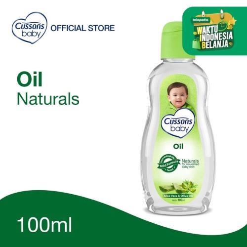 Foto Produk Cussons Baby Oil Natural 100ml dari Cussons Official Store