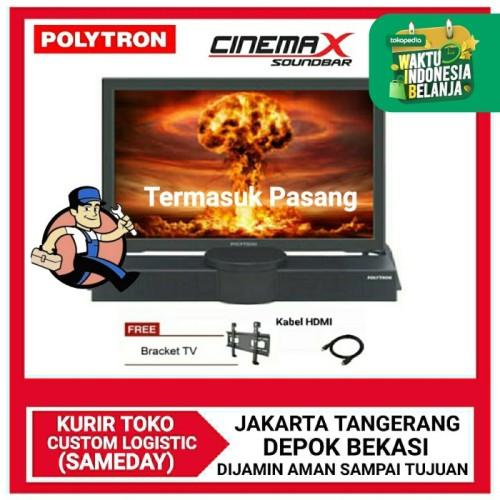 Foto Produk POLYTRON CINEMAX SOUNDBAR LED TV 24 INCH-PLD 24B8550 - PASANG JAKARTA, NO BUBBLE WRAP dari DPRINCE