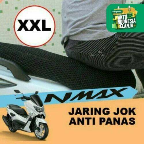 Foto Produk Sarung Jok Jaring Jok Motor Ukuran XXL Nmax Aerox Soul Gt Skywave dari Lestari Motor 2
