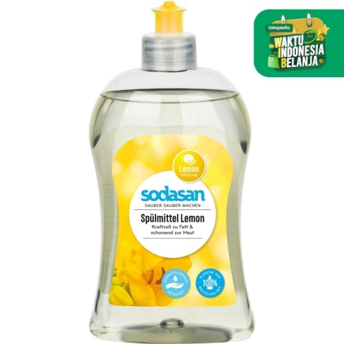 Foto Produk Sodasan - Hand Dishwashing Detergent - Lemon - 500 ml dari SESA Official