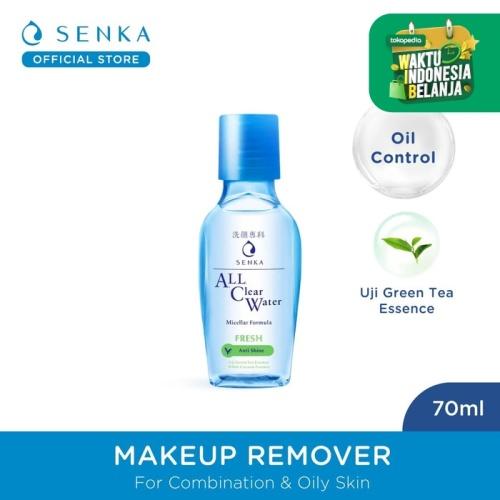 Foto Produk SENKA All Clear Water Fresh - Anti Shine 70 ml dari Senka Official Store