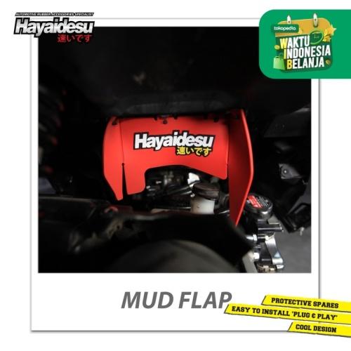 Foto Produk Hayaidesu Mud Flap Penahan Lumpur Motor Honda Vario FI - Japan Quality - Merah dari Hayaidesu Indonesia