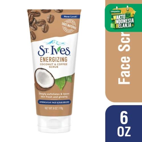 Foto Produk ST Ives Energizing Coconut & Coffee Face Scrub 170g dari Watsons Indonesia